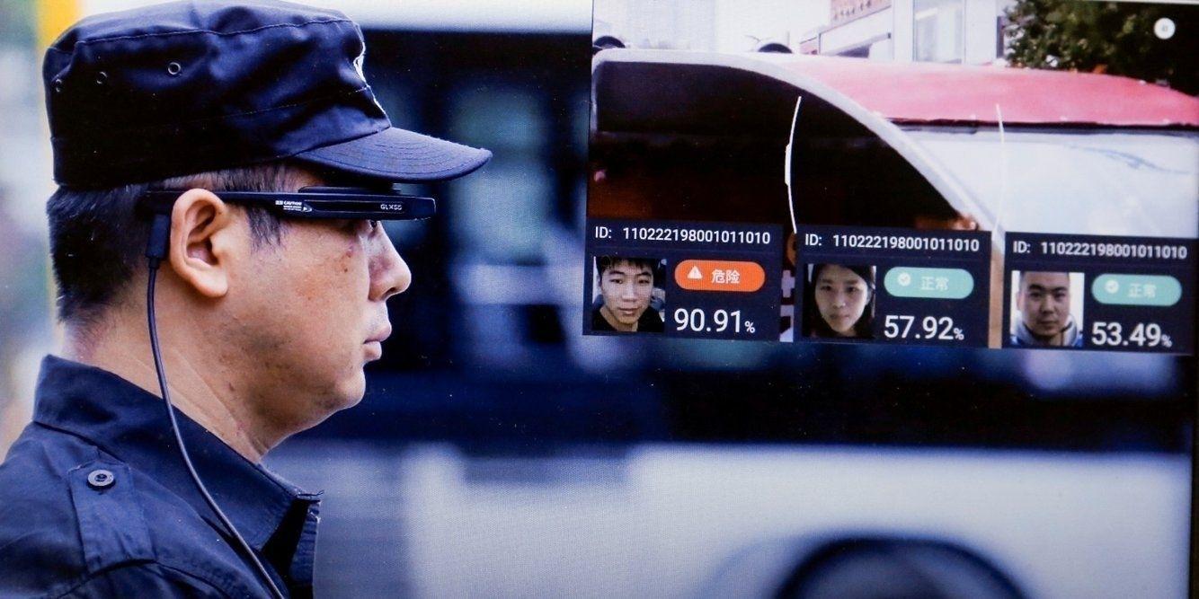 Бээжингийн замын цагдаа хиймэл оюунтай нүдний шил ашиглаж эхэлжээ