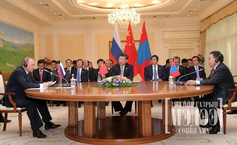 Владимир Путиний санал ба Ши Жиньпиний шийдэл