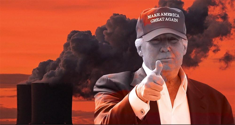 """Трампын нүүрсний """"популизм"""" эхлэв"""