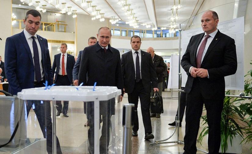 Ялалт байгуулсан Путины төрх