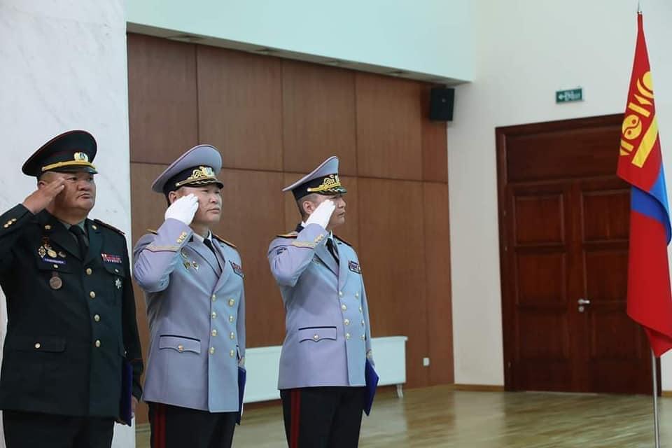 Монгол Улсын Ерөнхийлөгч Х.Баттулга Генерал цол олголоо