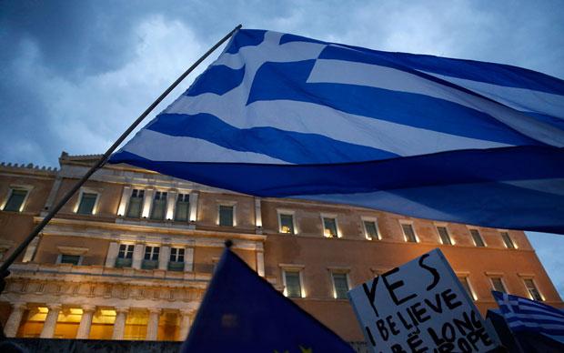 Грекчүүд олон улсын зээлдүүлэгчдэд