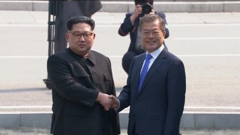 Хоёр Солонгосын удирдагчдын түүхэн уулзалт эхэлж байна