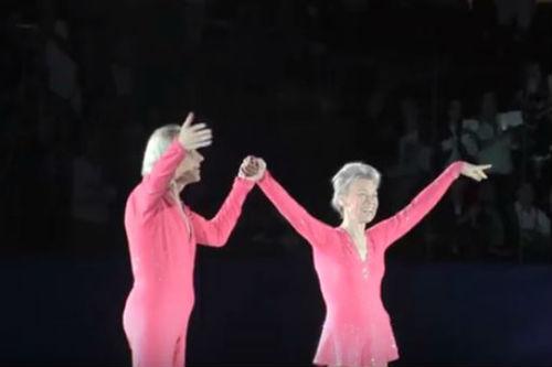 79 настай Людмила Белоусова, 83-тай Олег Протопопов нарын уран гулгалт