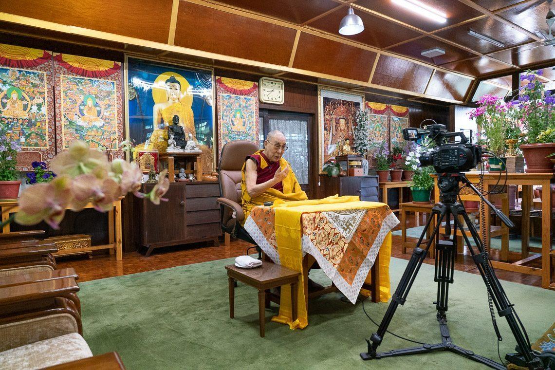 Видео: Далай лам онлайнаар ном айлдлаа