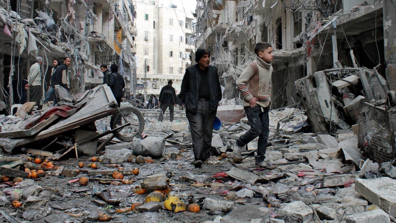 Босогчид Сирийн нийслэл дамаск хотыг бөмбөгджээ