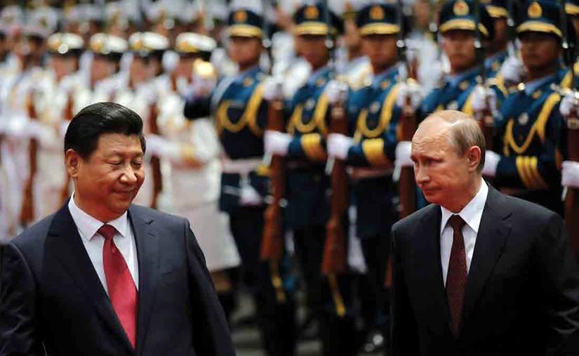 АНУ-ыг тэвдүүлэх Орос, Хятадын худалдаа
