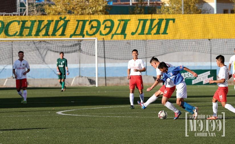 Мөнгө эргэлдсэн Монголын хөлбөмбөг