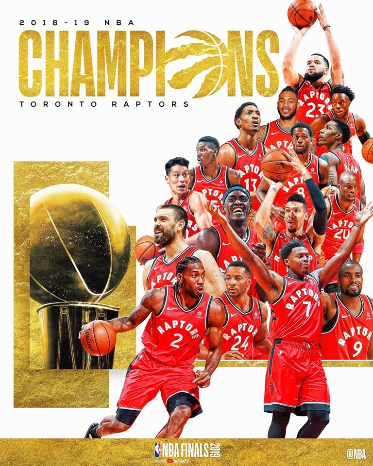 Тороното Pэпторс баг НБА-гийн шинэ аваргаар тодорлоо