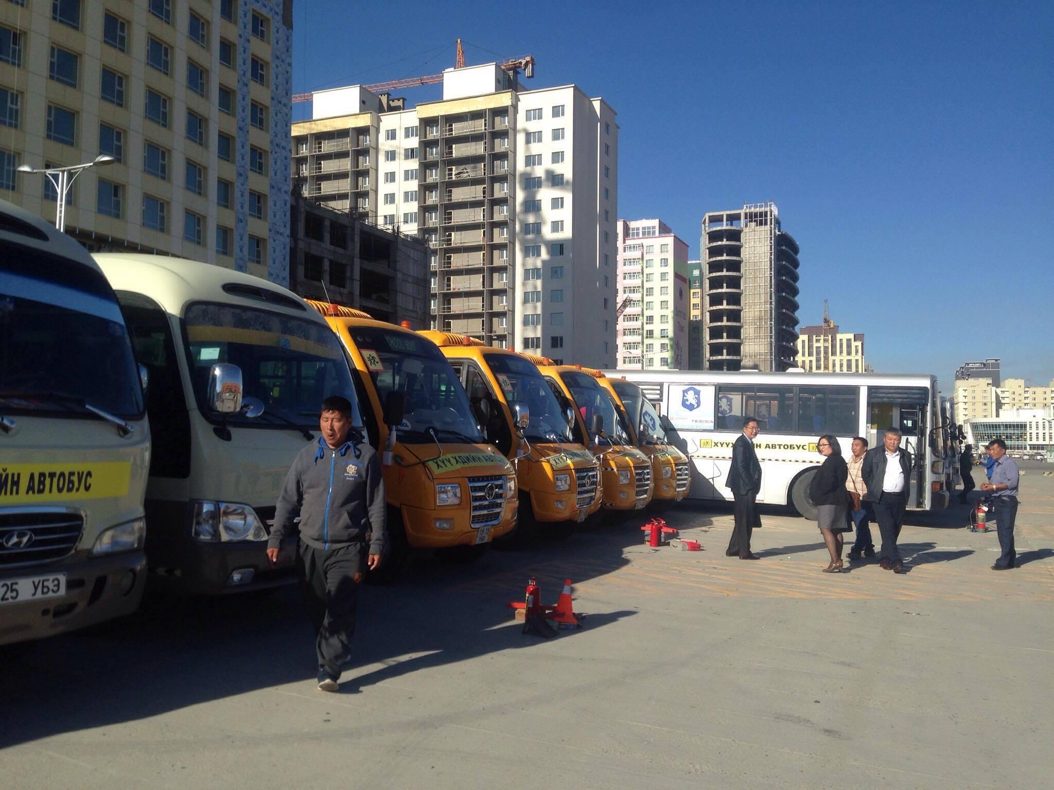Хүүхдийн автобусуудыг шалгаж эхэллээ