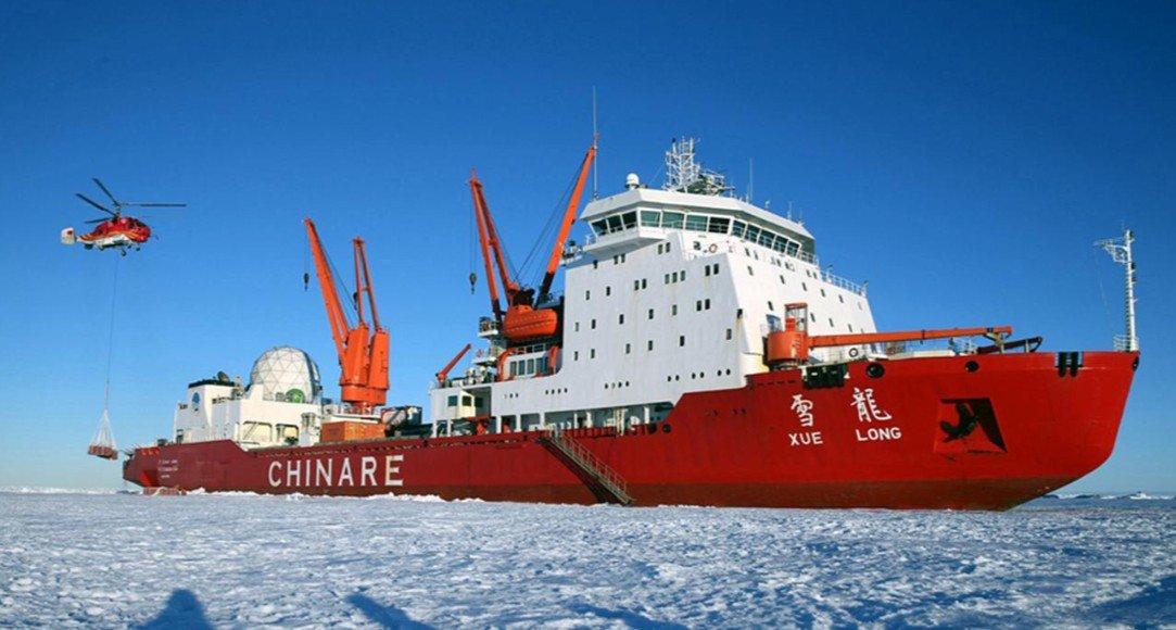Хятад улс Арктикийн баялагт тэмүүлж эхэллээ