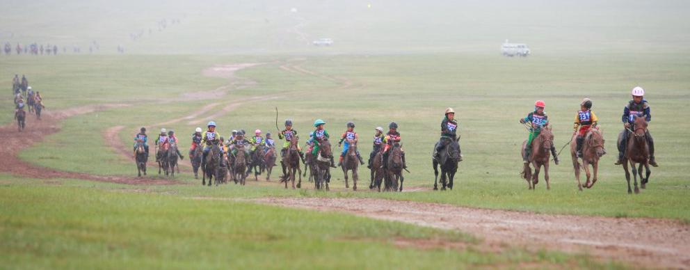 Шүдлэн насны морьдын уралдаанд Завхан аймгийн Тосонцэнгэл сумын Төмөрбаатарын Баяржавхлангийн хүрэн үрээ түрүүллээ