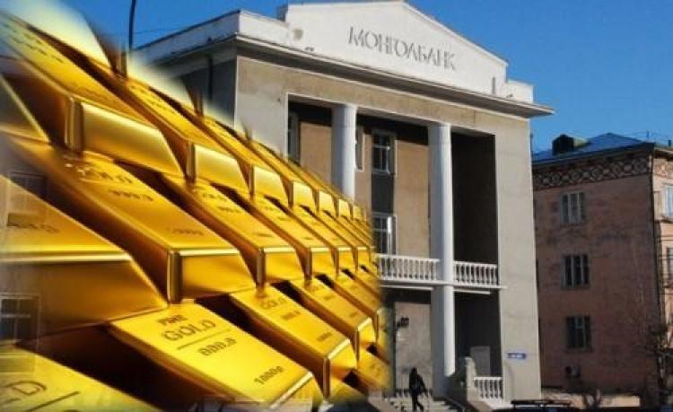 Монголбанк нийт 20 тонн алт худалдан авчээ