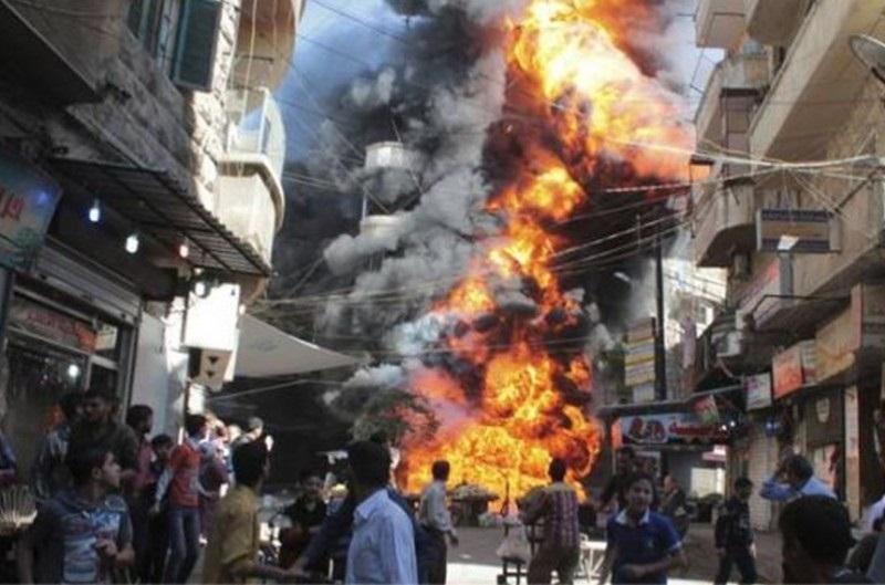 Сирийн Алеппо хот дахин агаарын цохилтод өртлөө