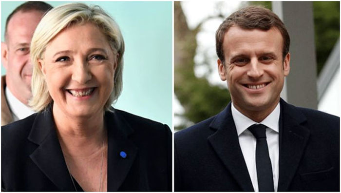Франц: Э.Макрон, Марин Ле Пен нар тунаж үлдлээ