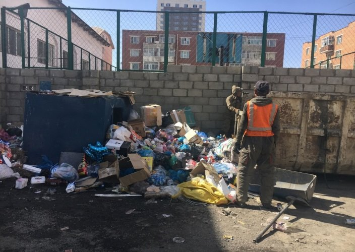 70,3 тонн хог хаягдлыг цэвэрлэсэн байна