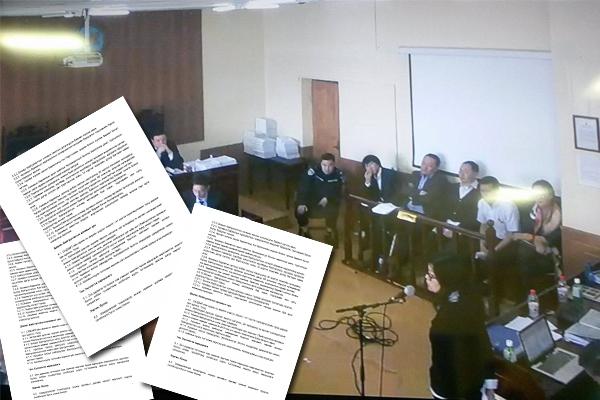 Нээлттэй шүүх хурлын үеэр шинжээч олны өмнө шившигээ тарив