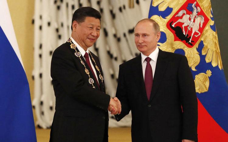 Си Зиньпин, Путинтэй уулзах санал гаргажээ