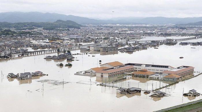Японд үргэлжилсэн их аадар борооны улмаас хөрсний гулгалт үүсч 88 хүн амиа алджээ