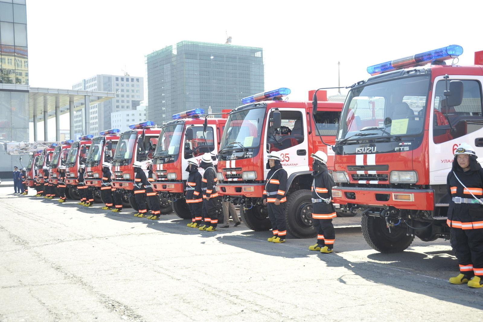 Баярын өдрүүдэд ОБЕГ-т 35 аюулт үзэгдэл, 23 гал түймрийн дуудлага иржээ