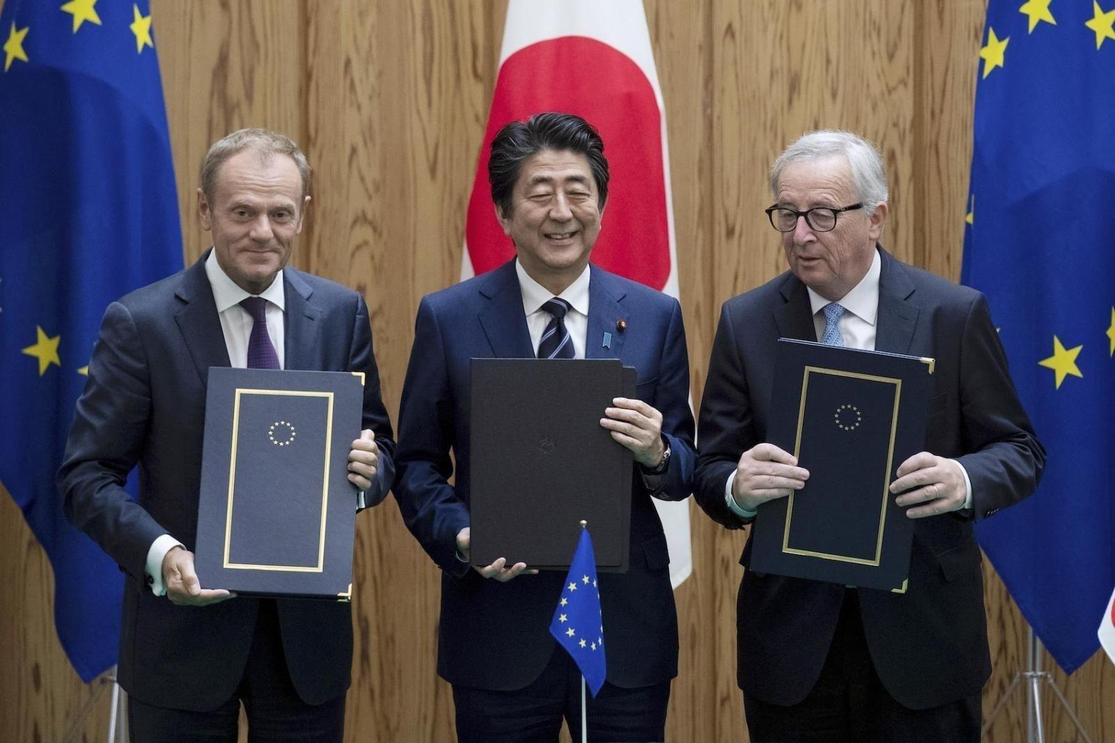 Япон, Европын Холбоо худалдааны томоохон гэрээ байгуулж, импортын татварыг бараг тэглэлээ