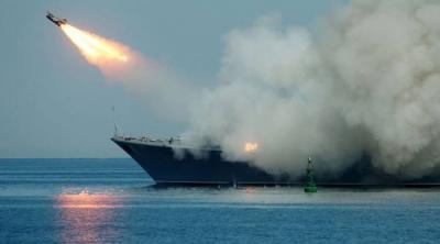Оросууд Сирийг далавчит пуужингаар ингэж харваж байна