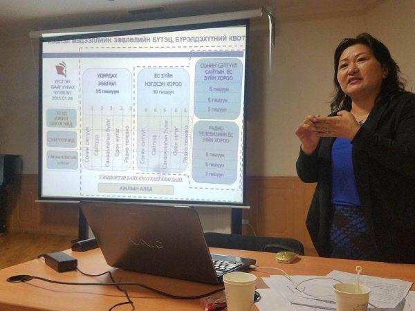 """Монголын сайтын Холбоо """"Хэвлэл мэдээллийн ёс зүй"""" сэдэвт сургалт зохион байгууллаа"""