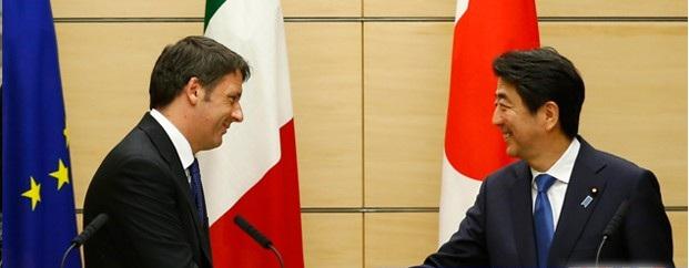 Японы Ерөнхий сайд Шинзо Абэ Итали улсад айлчиллаа
