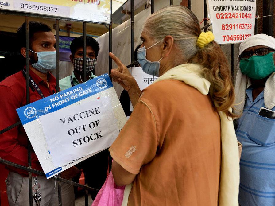 Энэтхэг улсад вакцины нөөц хүрэлцэхгүй болжээ