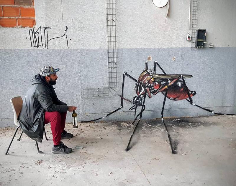 Зураач Сержио Одейтын гайхалтай 3D зургуудаас хүргэж байна
