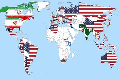 Дэлхийн хамгийн айдас дагуулдаг орнуудын картыг сүлжээнд тавьжээ