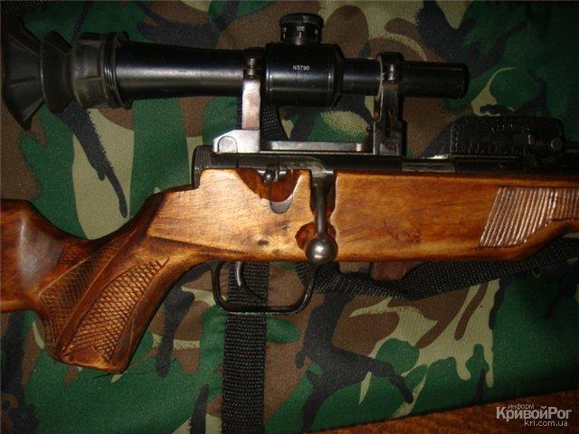 ...был проведен санкционированный обыск, в результате которого была изъята винтовка модели ТОЗ-8 калибра 5,6 мм...