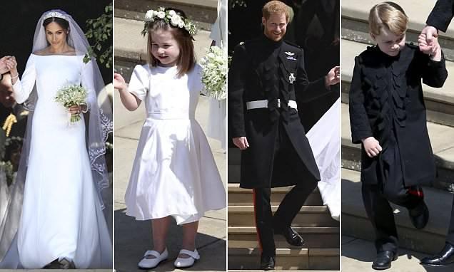 Уилъямын хүүхдүүд Харри, Меган нартай ижилхэн хувцаслажээ