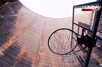 126 метрээс цагирагт бөмбөг хийжээ (видео)
