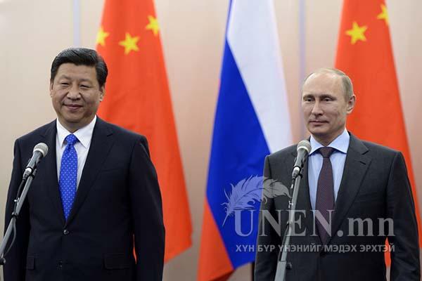Орос, Хятад хоёр баруун чиглэлээр хийн хоолой татахаар тохиролцжээ