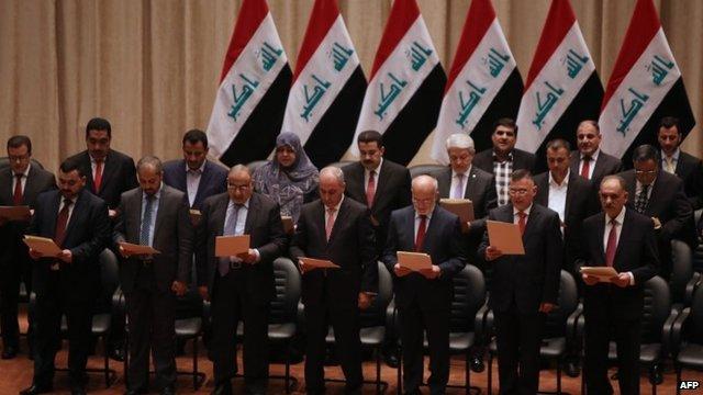 Иракийн парламент шинэ засгийн газрын нэрсийг баталлаа