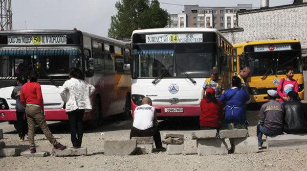 Автобус компанийнхны ажил хаялт иргэдийг бухимдууллаа