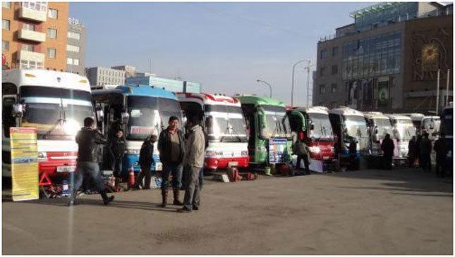 Хот хооронд 1400 жолооч нийтийн тээврээр үйлчилдэг