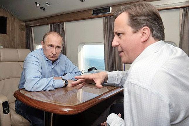 Д.Кэмерон, В.Путин нар Сири, Украины асуудлаар ярилцжээ