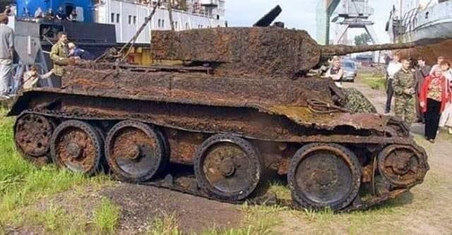 Въязма хотын газрын гүн тайгаас олдсон танк...