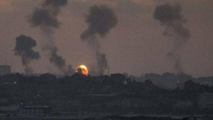 Газын зурвас дахь ХАМАС-ын объёктод цохилт өгчээ