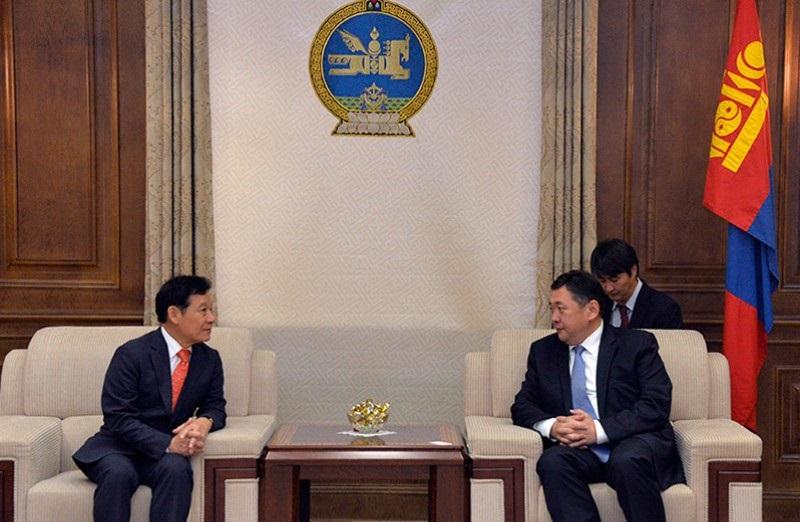 БНСУ-ын Гванжу хотын дарга Юн Жанг Хюүн тэргүүтэй төлөөлөгчдийг хүлээн авч уулзлаа