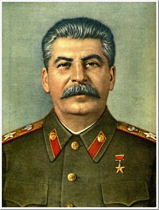 Сталин бидэнтэй хамт