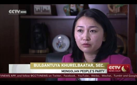МАН -ын нарийн бичгийн дарга Х. Булгантуяа ССТV - д ярилцлага өгчээ /видео/