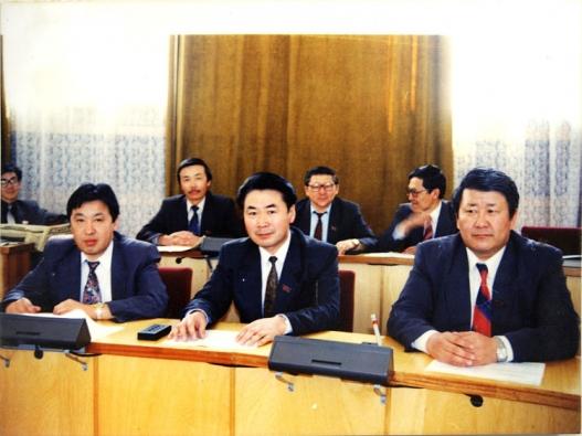 Анхдугаар сонгуулийн Улсын Их Хурал (1992-1996 он)