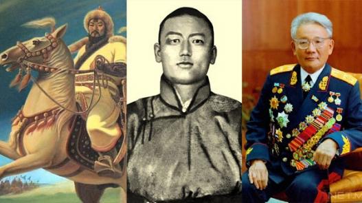 Монгол төрийн сүмбэр гурван оргил