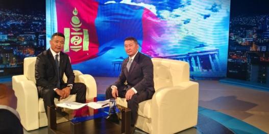 Ерөнхийлөгч Х.Баттулгын МҮОНPТ-д өгсөн ярилцлага