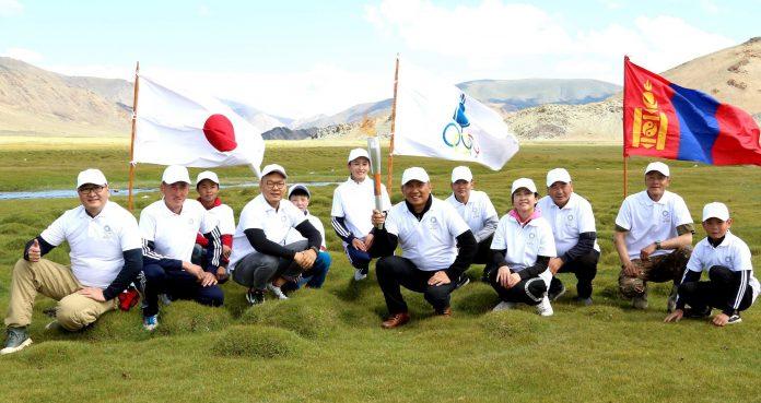 Токиогийн олимпийн бамбарыг Монголын дөрвөн зүгт аялуулж эхэллээ