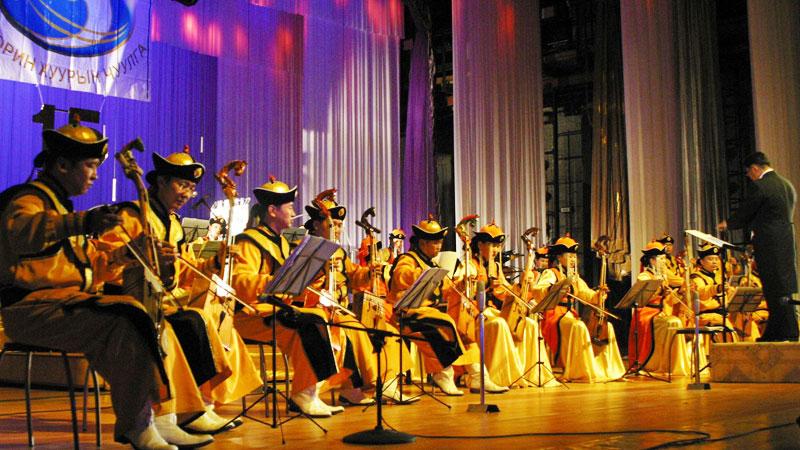 Ардын хөгжимд зориулсан концертууд тоглолт