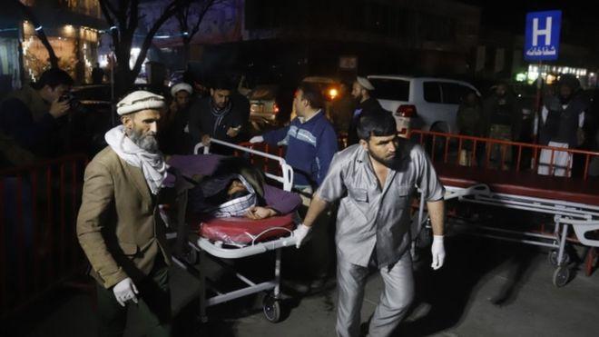 Кабулд амиа золиослогч этгээд олон арван хүний аминд хүрчээ